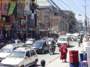 Nepal Informationen - Chaotischer Verkehr