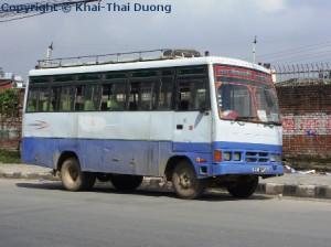 Nepal Verkehr - Öffentliche Verkehrsmittel: Bus