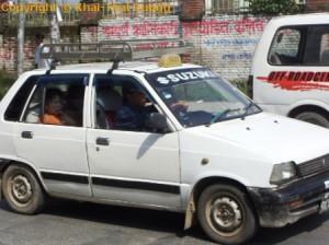 Nepal Verkehr - Öffentliche Verkehrsmittel: Das Taxi