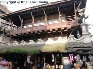 Das Stadtzentrum von Kathmandu besticht durch seine traditionelle Bauten.
