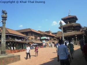 Bhaktapur Durbar Square ist der größte Durbar Square im Kathmandu-Tal.