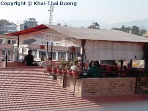 Rooftop Restaurants und Cafés verspechen einen schönen Ausblick.