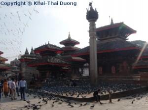 Der Kathmandu Durbar Square wird auch Basantapur genannt.