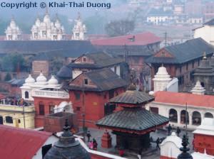 Pashupatinath ist die bedeutendste Pilgerstätte für Hinduisten.