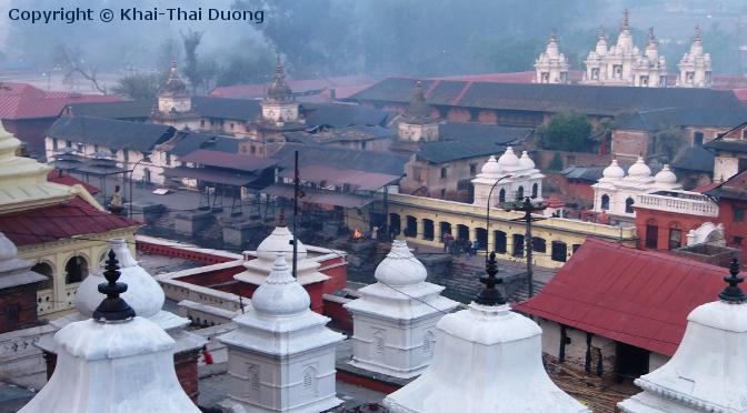 Pashupatinath - wichtigste Hindu Pilgerstätte Nepals.