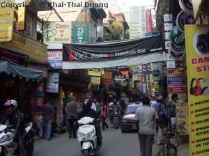 Thamel ist die Touristenhochburg Nepals.