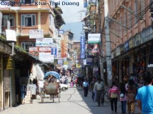 Thamel gilt als reines Touristenviertel.