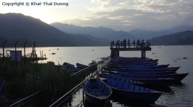 Phewa Lake - Fewa Lake - bei Pokhara