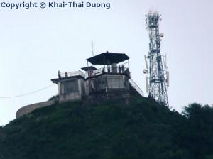 Aussichtsplattform von Sarangkot auf einer Höhe von ca. 1.600m.