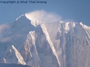 Sarangkot bietet einen fantastischen Blick auf den Himalaya.