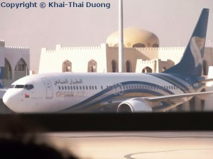 Flüge nach Nepal - Oman Air fliegt über Muskat nach Kathmandu, Nepal.