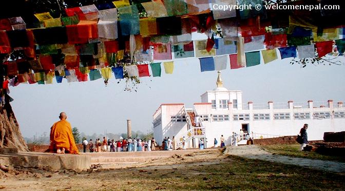 Lumbini - Der Geburtsort von Buddha