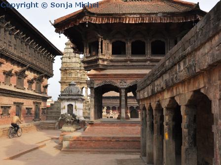 Patan Durbar Square ist nicht so überlaufen wie der in Kathmandu oder Bhaktapur.