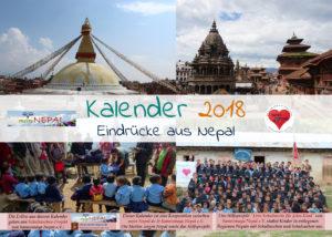 Kalender 2018 - Eindrücke aus Nepal und dabei Gutes tun.