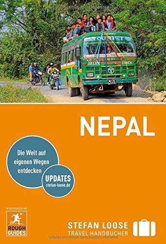 """""""Reiseführer Nepal"""" von Stefan Loose."""