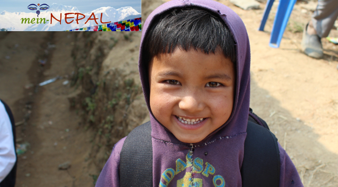 Nepal Hilfe - Gemeinsam Kindern in Nepal helfen