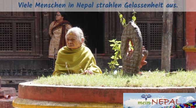 In der Ruhe liegt die Kraft - In Kathmandu herrscht ein Kontrast zwischen Hektik und Gelassenheit.