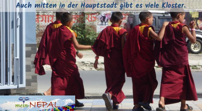 Früh übt sich Mönch zu werden :)