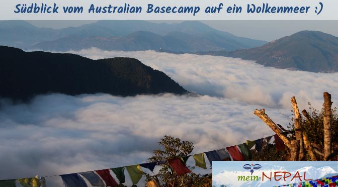 Wer nicht ganz so hoch hinaus möchte, kann sich an einen Tagesmarsch zum Australian Basecamp wagen.Wer nicht ganz so hoch hinaus möchte, kann sich an einen Tagesmarsch zum Australian Basecamp wagen.