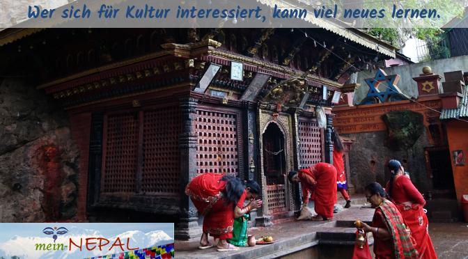 Um die nepalesische Kultur kennenzulernen, benötigt es einheimische Guides.