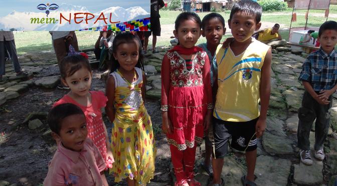 Reisebericht aus Nepal - Namen in Nepal.