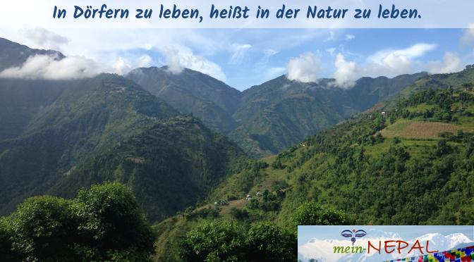 Jedes Dorf hat seine ganz eigene besondere Aussicht, doch eines haben sie gemeinsam: Natur!