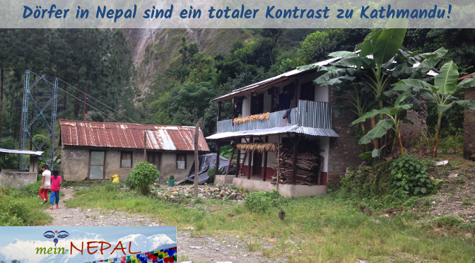 Viele Menschen, die in Dörfern leben, kennen das moderne Kathmandu nur vom Hörensagen.