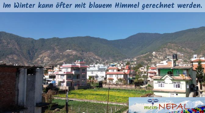 Nepal Reisezeit - In der Winterzeit zwischen Oktober und März bleibt es meist trocken.