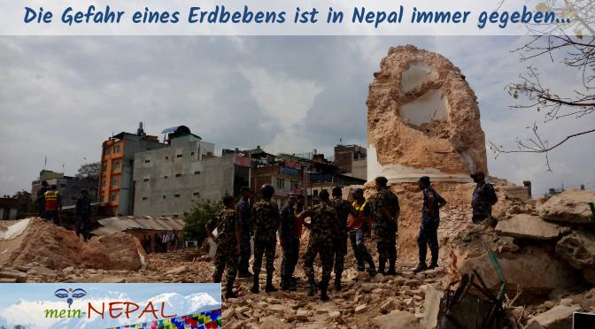 Die größten Schäden während eines Erdbebens sind meist in den Dörfern!