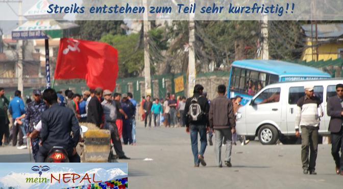 Ein kurzfristig ausgerufener Streik erzeugt schnell Chaos auf den Straßen.