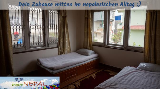 Bei uns in der Unterkunft fühlst Du Dich in Kathmandu Zuhause -mehr als in einem Hotel.