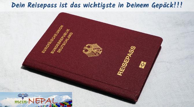 Kopier sicherheitshalber vor Deiner Abreise die wichtigsten Seiten Deines Reisepasses!