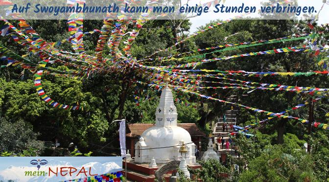 Swayambhunath ist ein Besuch absolut wert!