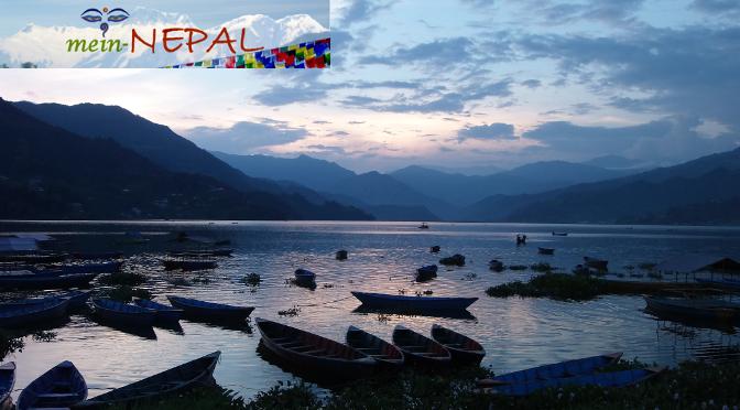 Die Stadt Pokhara muss auf einer Nepal-Reise besucht werden!