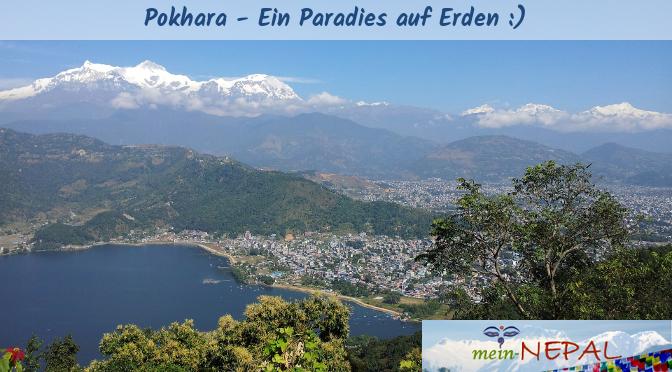 Einfach unbeschreiblich dieser Anblick auf den Phewa Lake und dem Himalaya.