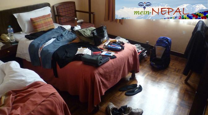 Reisegepäck Checkliste - Was nehme ich alles mit auf meiner Nepal-Reise?